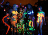 Black Light Theme Party
